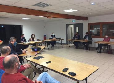 Rencontre des Maires ruraux de la CCPR